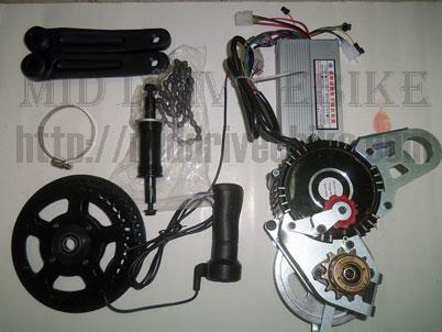 Toronto Quality Motors >> Mid Drive Ebike   Electric Bike Conversion Kit   Brushless Motor   Toronto   450W   48V